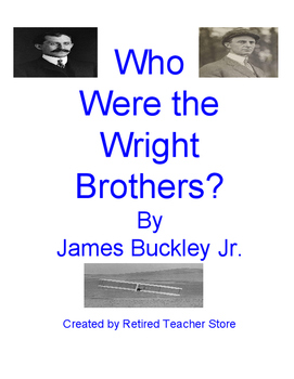 Who Were the Wright Brothers? Unit