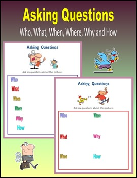 Who, What, When, Where, Why, How Questions