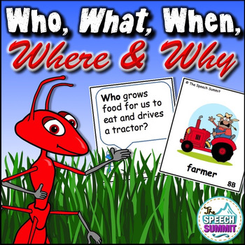 Who, What, When, Where, and Why Question Game