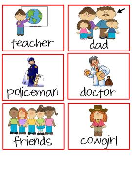Who What Where Sentences!