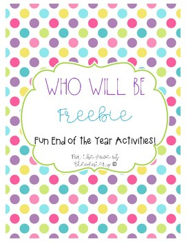 Who Will Be Freebie