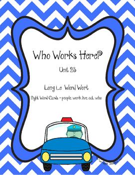 Who Works Here?  I_E Word Sort