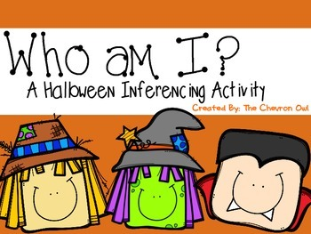Who am I? Halloween Inferencing Activity