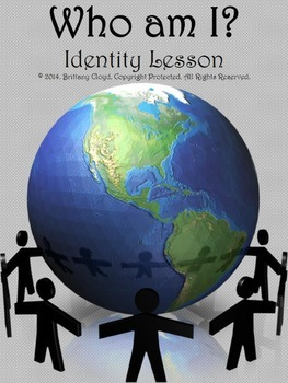 Who am I Identity Lesson Activity Group Work Acrostic Poem