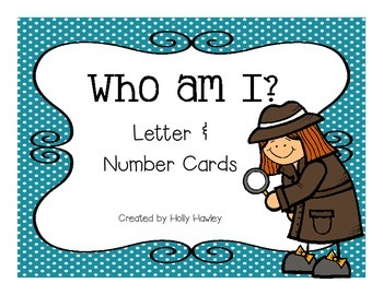 Who am I? Letters & Numbers Edition