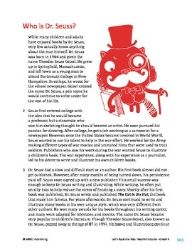 Who is Dr. Seuss? - Informational Text Test Prep