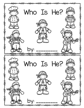 Who is He?  emergent reader