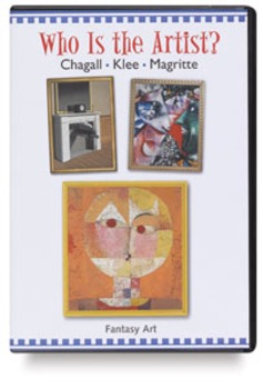 Who is the artist worksheet-Chagall, Klee, Magritte
