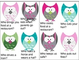 Who-question Owls