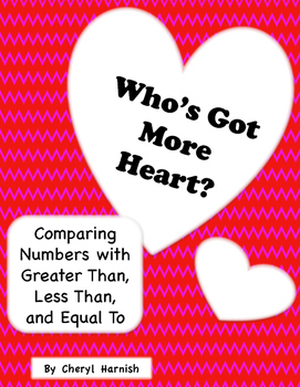 Who's Got More Heart?  Comparing With Greater Than, Less T