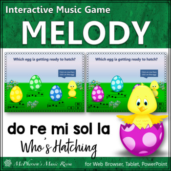 Who's Hatching? Interactive Melody Game (Do Re Mi Sol La)