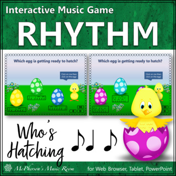 Who's Hatching? Interactive Rhythm Game (Syncopa)