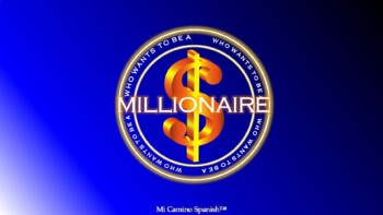 Who wants to be a millionaire? - FULLY CUSTOMIZABLE GAME T