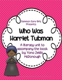 Guided Reading Who was Harriet Tubman: Common Core, No Pre