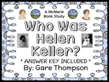 Who Was Helen Keller? (Gare Thompson) Book Study / Reading