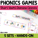 Short Vowel Phonics Domino Game