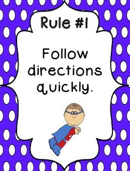 Whole Brain Rules - Vertical Polka Dots