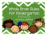 Whole Brain Rules for Kindergarten
