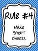 Whole Brain Teaching 5 Rules and Callbacks - Bright Polka Dot