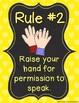 Whole Brain Teaching Classroom Rule Posters {FREEBIE}