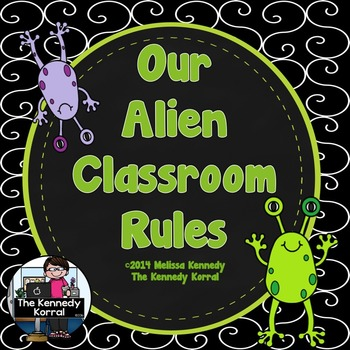 Classroom Rules: Out of this World  {Alien Theme}