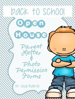 Back to School/Open House Social Media Permission (SPECIFI