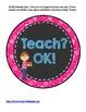 Whole Brain Teaching Polka Dot Circle Posters FREEBIE