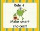 Whole Brain Teaching (Power Teaching) Rules- Frog Themed