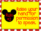 Whole Brain Teaching Rules: Mickey Mouse Inspired