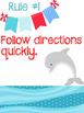 Whole Brain Teaching Rules: Ocean Theme