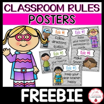 Whole Brain Teaching Rules Posters- Chevron Themed