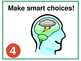Whole Brain Teaching Rules Posters with and without Depth
