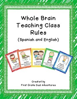 Whole Brain Teaching Rules (Spanish and English)