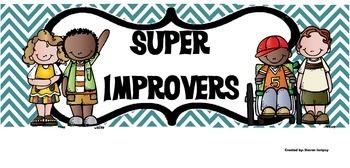 Whole Brain Teaching Super Improver Wall Title