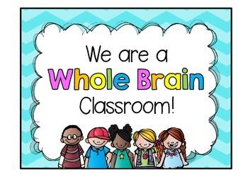 Whole Brain Teaching (door sign) freebie!