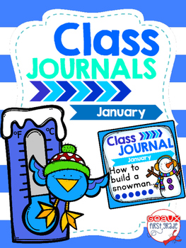 Whole Class Journal Covers for January