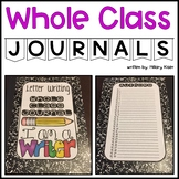 Whole Class Journals (Complete Bundle)