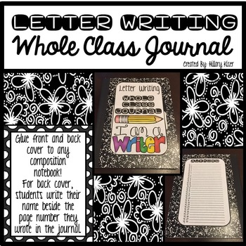 Whole Class Journals (Letter Writing)