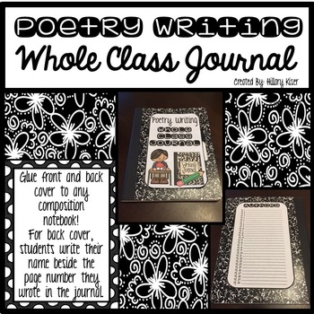 Whole Class Journals (Poetry Writing)