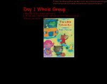 Whole Group Reading Street Grade K The Little School Bus Day 1