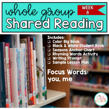 Whole Group Shared Reading Week 8