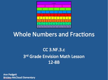 Whole Numbers and Fractions Flipchart