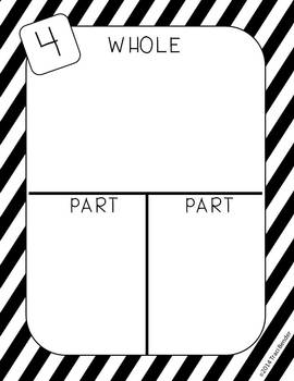 Whole Part Part Mats {Recording Sheet Included}