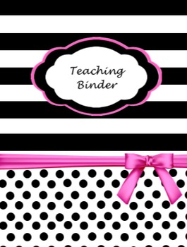 Whole Year Organization System and Planner for Binders