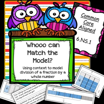Whooo Can Match the Model? (6.NS.1)