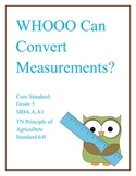 """Whoooo Can Convert Measurments"""