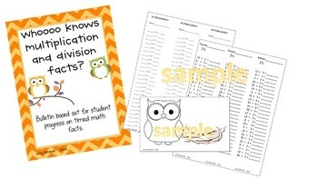 Whoooooo Knows Multiplication and Division Facts? A Fact F