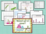 Whoooo's got an answer?-a data and graphing activity!
