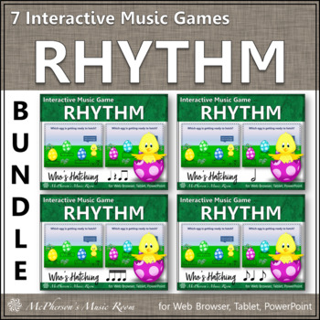 Who's Hatching? Interactive Rhythm Bundle