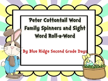 Who's The Imposter? Word Family Spinners and Roll-A-Word A